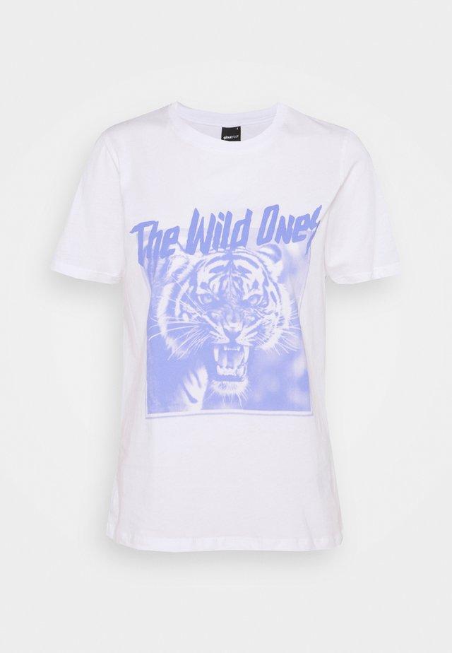 IDA TEE - T-shirt print - white