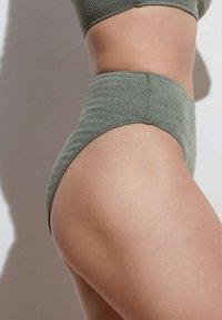 OYSHO - Bikini bottoms - khaki - 2