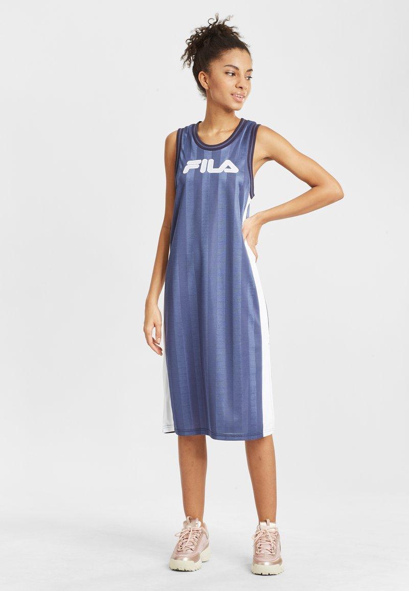 Fila - Day dress - crown blue bright white