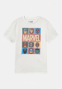 GAP - BOYS TEE - Print T-shirt - new off white - 0