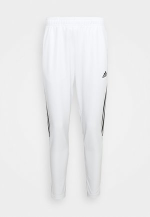 Tracksuit bottoms - white/black