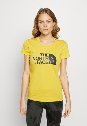WOMENS EASY TEE - Print T-shirt - bamboo yellow