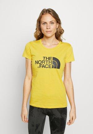 WOMENS EASY TEE - T-Shirt print - bamboo yellow