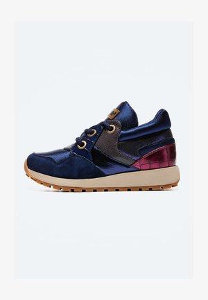 DEAN SHION - Šněrovací boty - dunkel ozaen blau