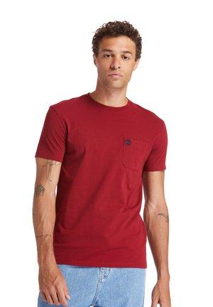 SS DUNSTAN RIVER POCKET TEE - T-shirt basic - rhubarb