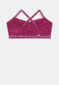 Calvin Klein Underwear - UNLINED TRIANGLE - Bustier - deep sea rose - 2