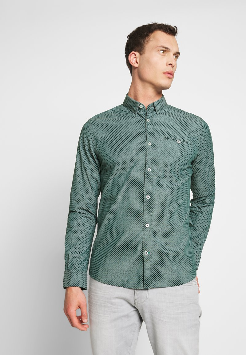 TOM TAILOR - FLOYD SMART  - Shirt - navy/blue