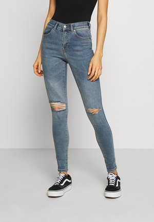 LEXY - Jeans Skinny Fit - westcoast blue ripped