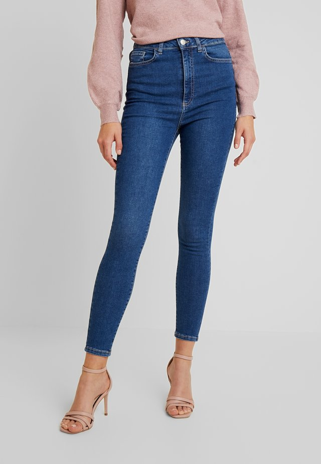 VMSANDRA - Jeans Skinny Fit - medium blue denim
