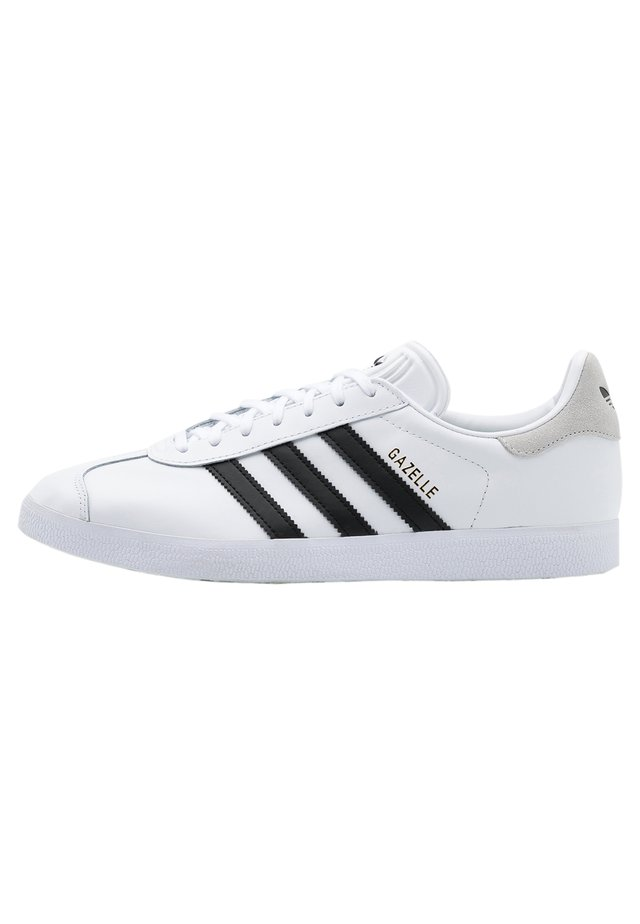 GAZELLE - Baskets basses - footwear white/core black/crystal white