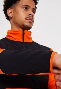 The North Face - GLACIER PRO 1/4 ZIP  - Fleece jumper - flame/black - 4