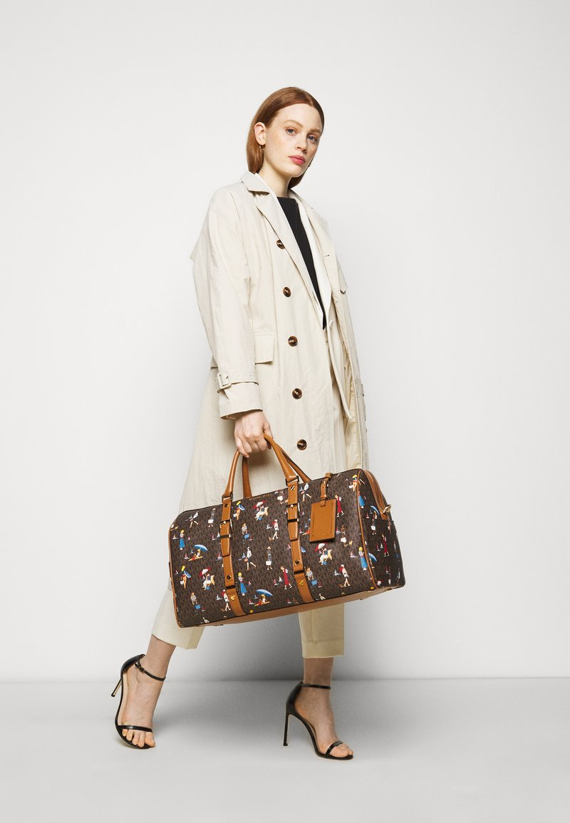 MICHAEL Michael Kors - Weekend bag - brown/multi