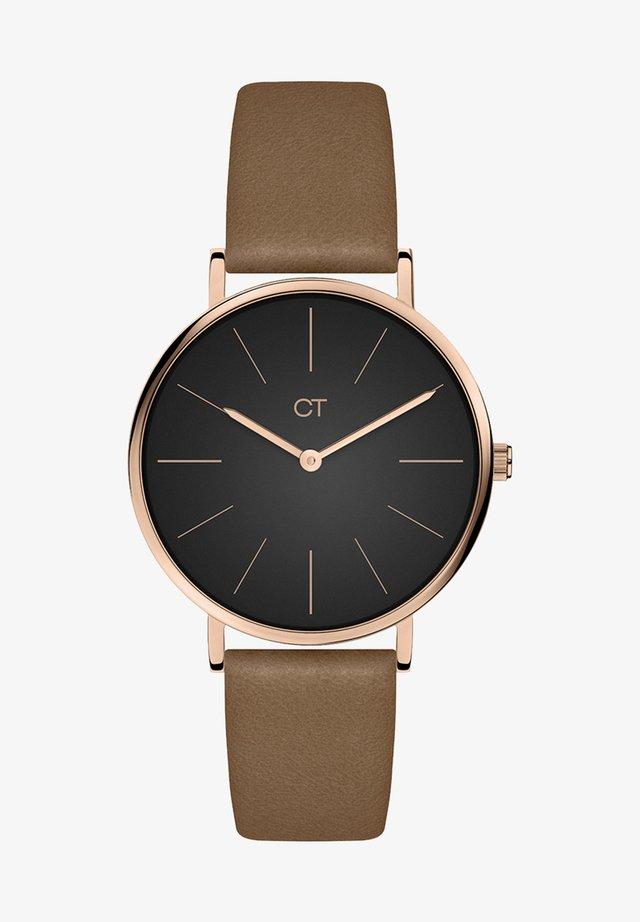 Watch - braun-schwarz