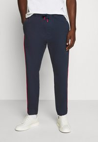 Tommy Jeans - CUFFED - Broek - twilight navy - 0