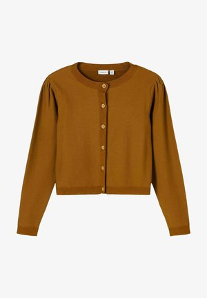 Cardigan - mustard yellow