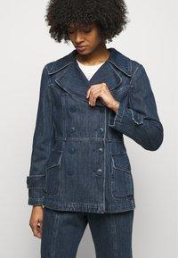 Alberta Ferretti - JACKET - Denim jacket - blue - 3