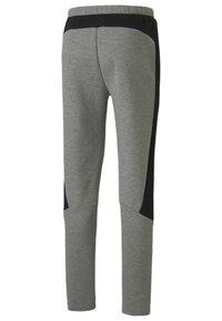 Puma - Tracksuit bottoms - medium gray heather - 4