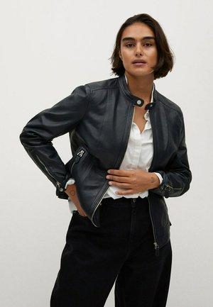 CHELSEA7 - Leather jacket - donkermarine