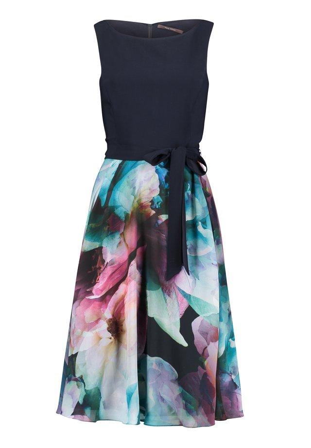 Robe de soirée - dark blue/pink