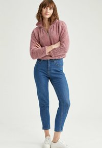DeFacto - Fleece jumper - bordeaux - 1