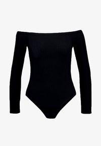 New Look - BARDOT BODY - Long sleeved top - black - 3