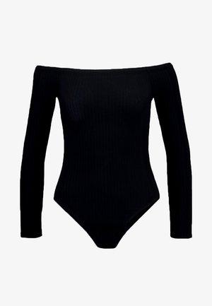 BARDOT BODY - Long sleeved top - black