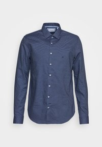 Calvin Klein Tailored - STRUCTURE EASY CARE SLIM SHIRT - Formal shirt - blue - 5