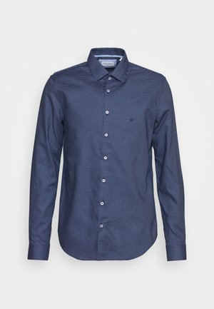 STRUCTURE EASY CARE SLIM SHIRT - Zakelijk overhemd - blue