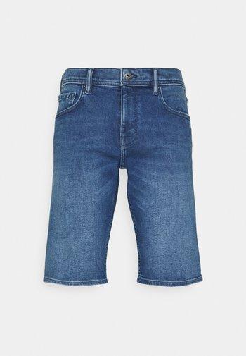 Jeansshorts - blue medium wash