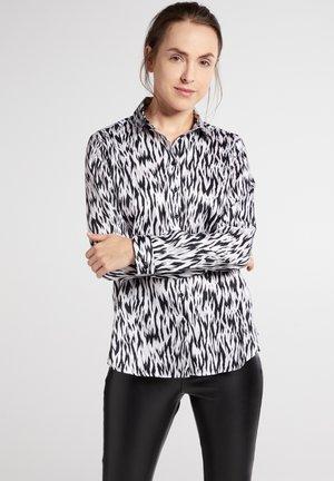 MODERN CLASSIC - Overhemdblouse - schwarz/weiß