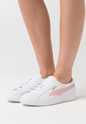 LOVE  - Sneakers laag - white/peach