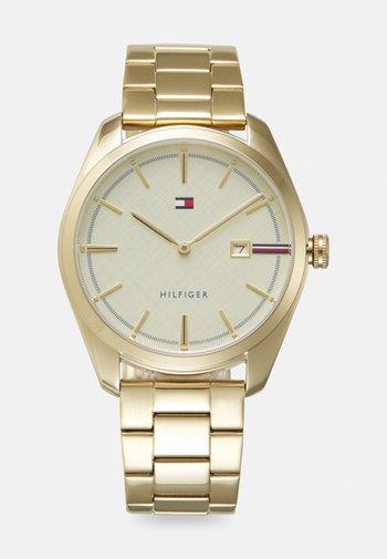 THEO UNISEX - Watch - gold/white