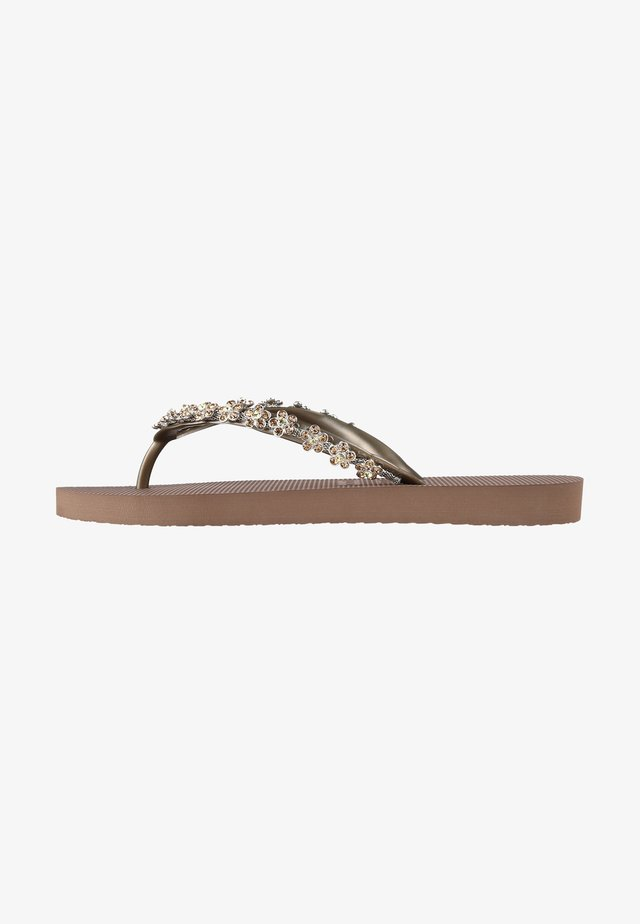 CLASSIC ABY - Badslippers - taupe
