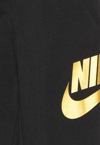 Nike Sportswear - CLUB PANT - Tracksuit bottoms - black/metallic gold - 2