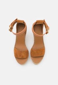 See by Chloé - GLYN HIGH - Korolliset sandaalit - light pastel brown - 5