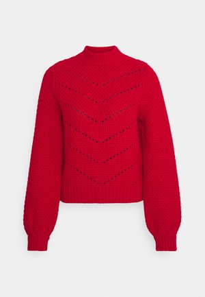 JAVA PULL - Jumper - rough red