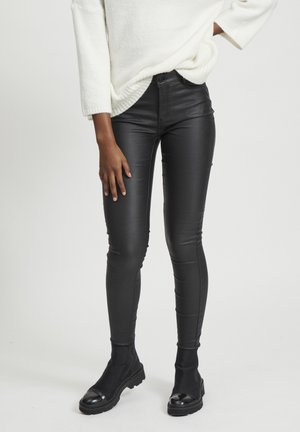 VICOMMIT - Jeansy Skinny Fit - black