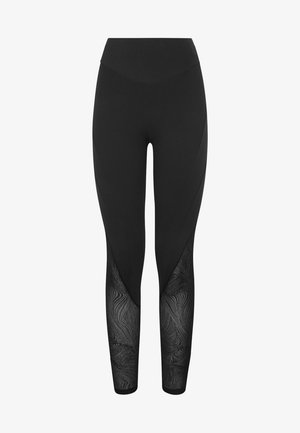 FORMENDE LEGGINGS MIT TRANSPARENTEN DETAILS 31217222 - Tights - black