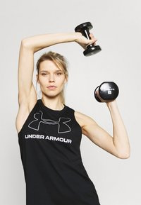 Under Armour - SPORTSTYLE GRAPHIC TANK - T-shirt sportiva - black - 3