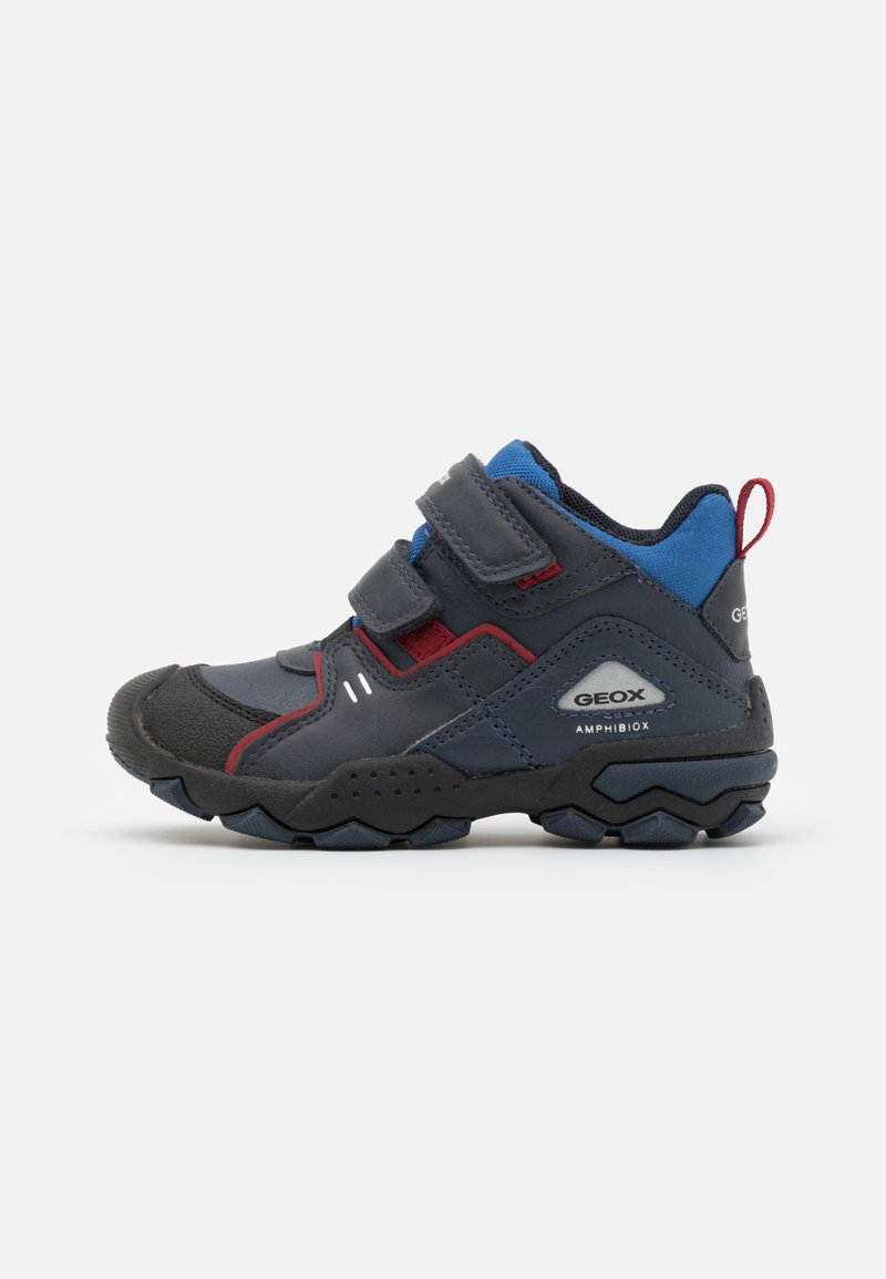 Geox - BULLER BOY ABX - Classic ankle boots - navy/dark red