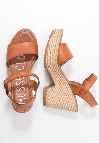 Musse & Cloud - ERA - Sandály na vysokém podpatku - tan - 3