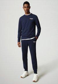 Napapijri - S-ICE LS - Långärmad tröja - medieval blue - 1