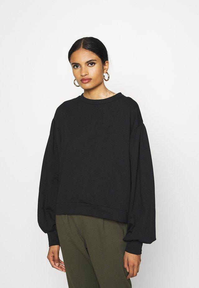 NMELLA DETAIL - Sweater - black