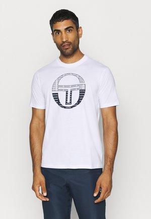 BOTERO - Print T-shirt - white/navy