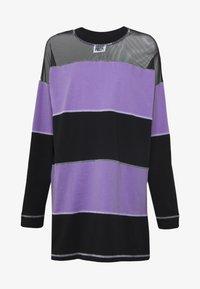 The Ragged Priest - SKATER DRESS - Jersey dress - black/purple - 4