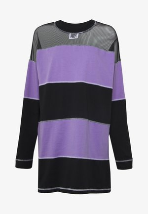 SKATER DRESS - Vestido ligero - black/purple