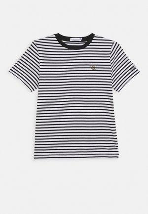 STRIPE SHIRT - T-shirt print - white