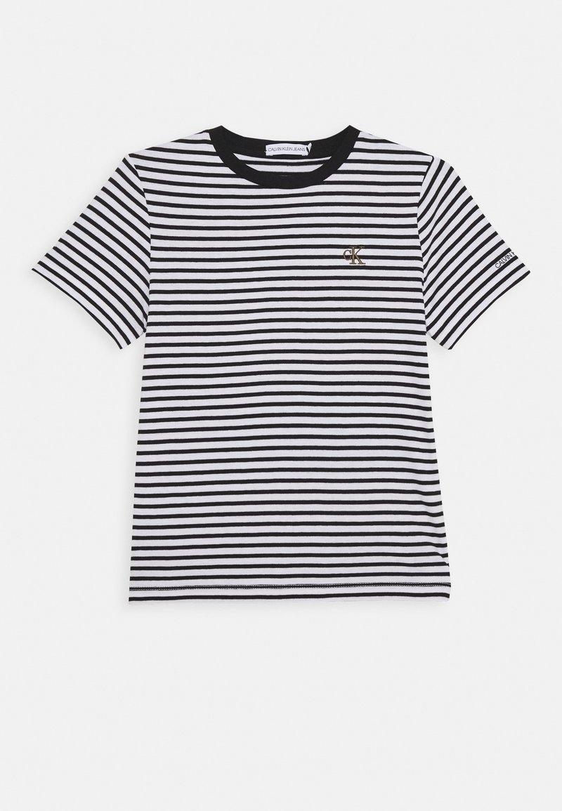 Calvin Klein Jeans - STRIPE SHIRT - T-shirt print - white