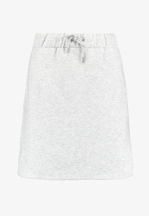 COZY SKIRT - A-line skirt - greymélange