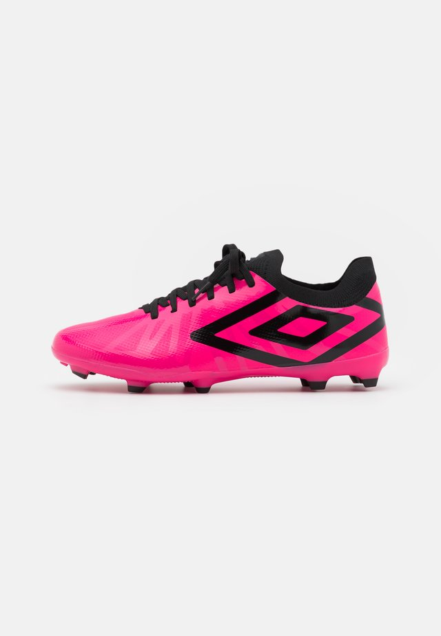 VELOCITA PREMIER FG - Moulded stud football boots - pink peacock/black/white